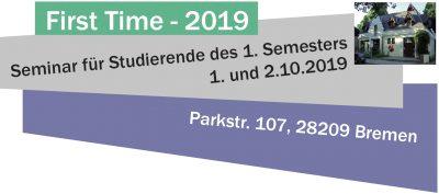 First-Time-Seminar 2019