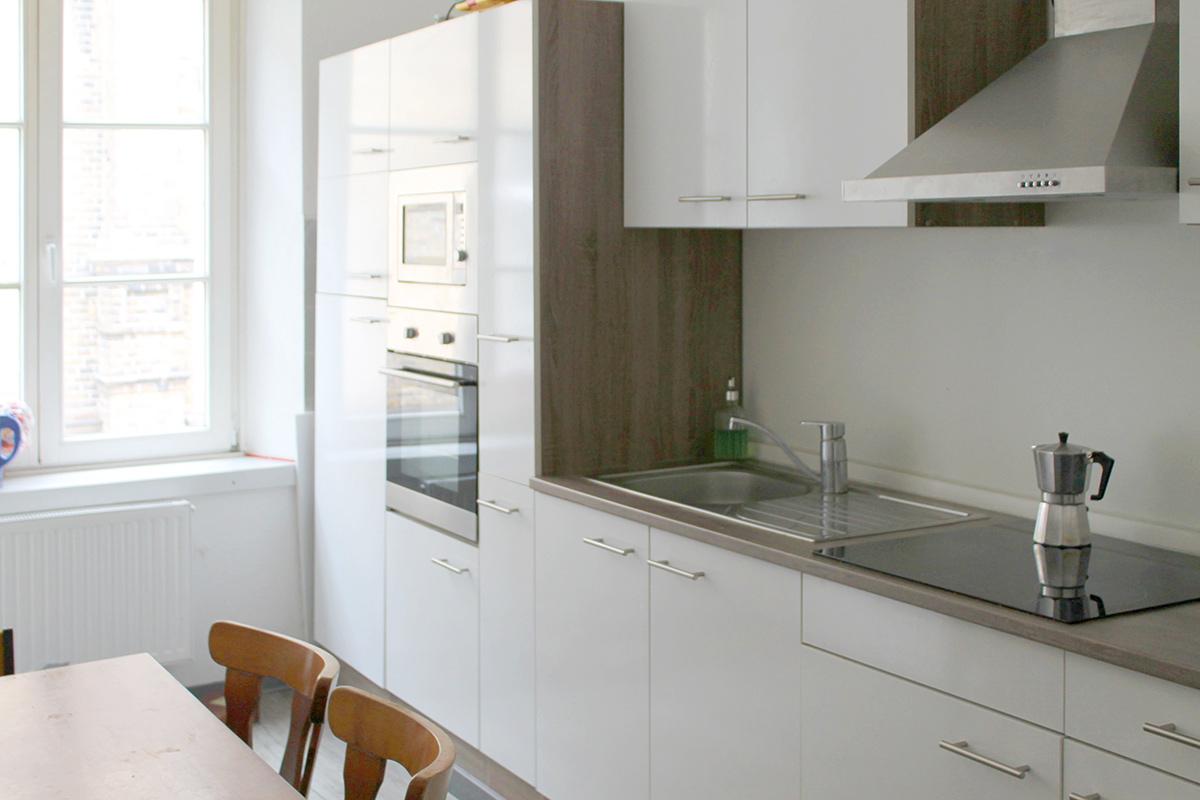 Küche, renoviert 2018